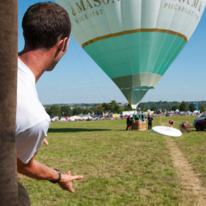 Fortnum & Mason 'Inflation Race' at the Bristol Balloon Fiesta