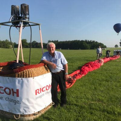 experienced commercial balloon pilot retires