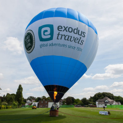bespoke hot air balloon