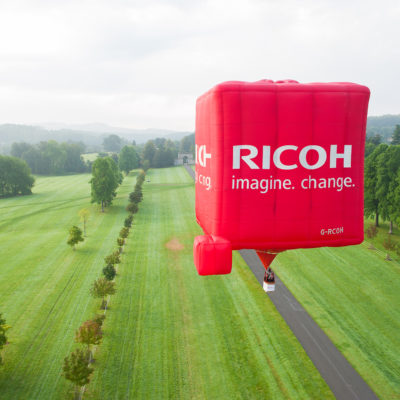 RICOH Special cube shape